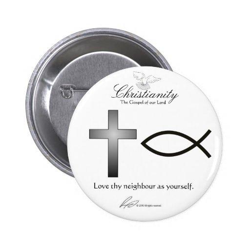 Cristianismo - botón pins