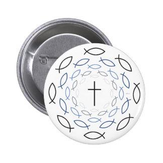 Cristianismo Chapa Redonda 5 Cm