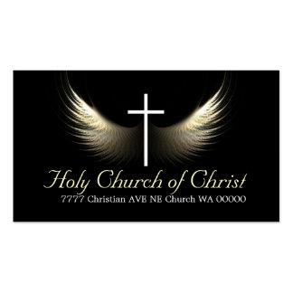 Cristianismo cristiano del pastor de la religión r tarjeta de visita