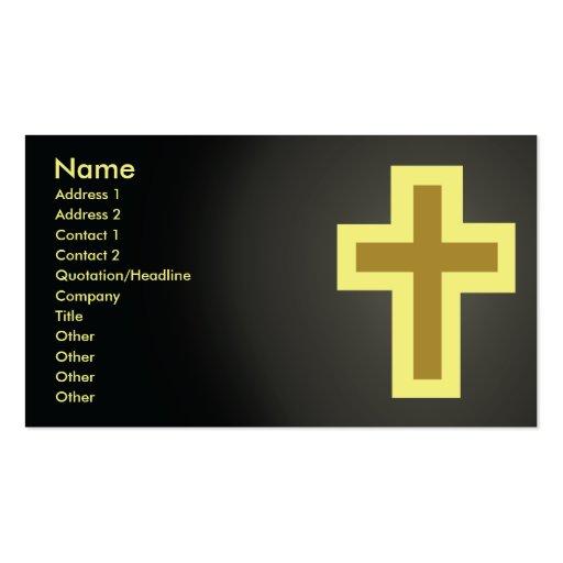 Cristianismo - negocio tarjetas de negocios