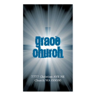 Cristianismo religioso del pastor de la religión d plantilla de tarjeta de visita