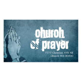 Cristianismo religioso del pastor de la religión d plantillas de tarjeta de negocio