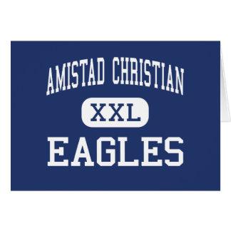 Cristiano de Amistad - Eagles - alto - Del Río Tej Tarjetas