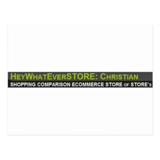 Cristiano de HeyWhatEverSTORE Postal
