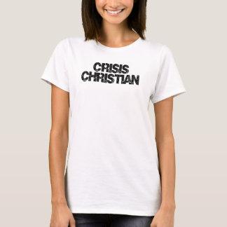 cristiano de la crisis camiseta