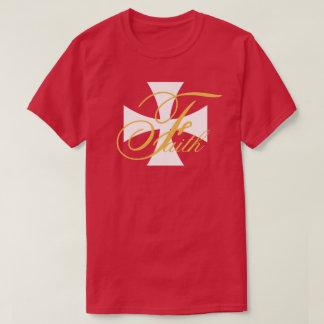 Cristiano de la fe camiseta