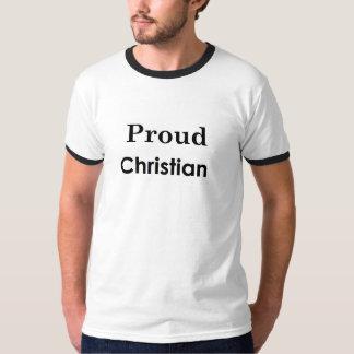 Cristiano orgulloso camiseta