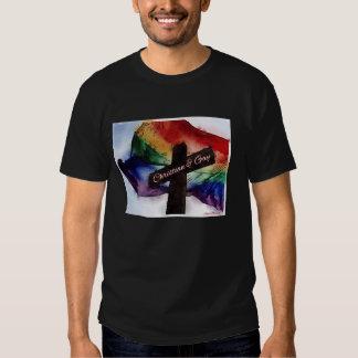 Cristiano y gay camiseta
