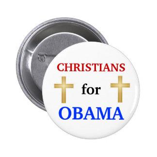 Cristianos para el botón de Obama 2012