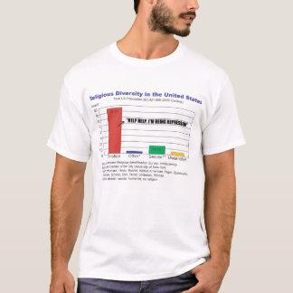 cristianos reprimidos camiseta