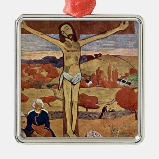 Cristo amarillo por Gauguin, impresionismo del Adorno De Reyes