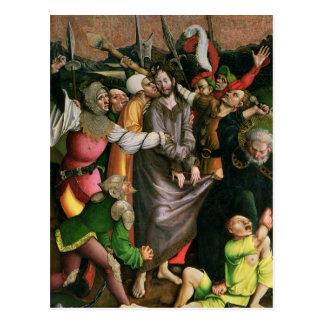 Cristo arrestó en el jardín de Gethsemane Postal