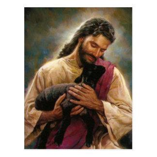 Cristo el buen pastor postal