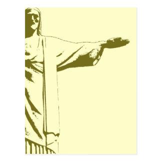 Cristo el redentor. Río de Janeiro Postal