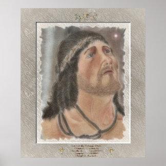 """""""Cristo en el bosquejo de la columna """" Póster"""