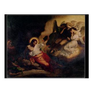 Cristo en el jardín de aceitunas, 1827 postal
