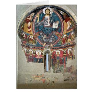 Cristo en la gloria 2 tarjeta de felicitación