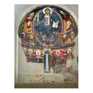 Cristo en la gloria 2 postal