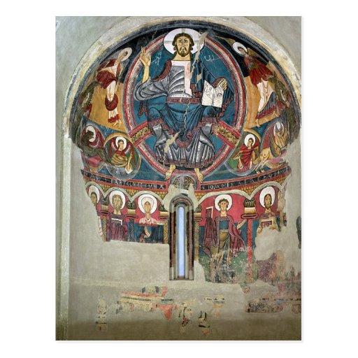 Cristo en la gloria 2 postales