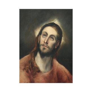 Cristo en rezo de El Greco Impresiones De Lienzo