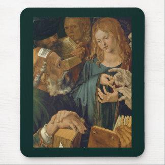 Cristo entre los doctores c1506 alfombrilla de ratón