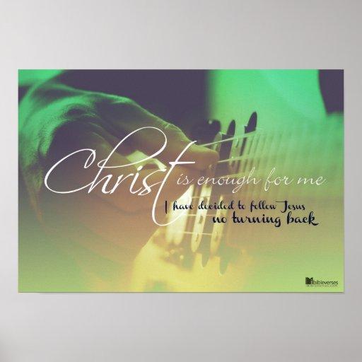 Cristo es bastante para m posters