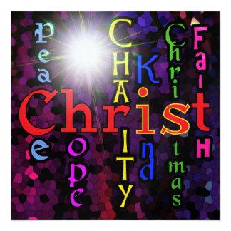 Cristo es invitación del navidad