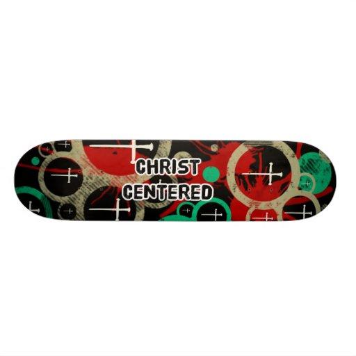 Cristo se centró patin