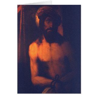 Cristo Tarjeta