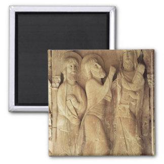 Cristo y los peregrinos de Emmaus Imán De Nevera