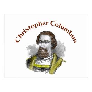 Cristóbal Colón Postal