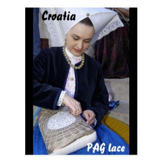 Croacia, cordón del PAG Postal