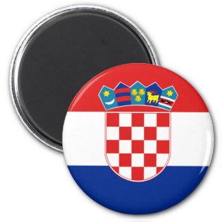 Croacia Imán Redondo 5 Cm