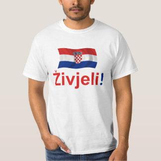 ¡Croacia Zivjeli! (Alegrías) Camisetas