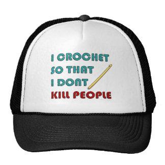 Crochet, Gorra