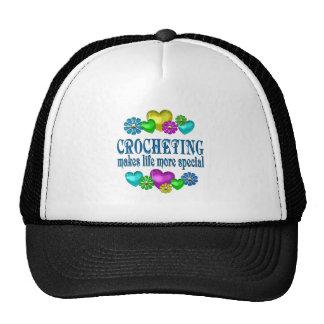 Crocheting más especial gorras de camionero