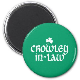 Crowley-en-ley Imán Redondo 5 Cm