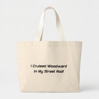 Crucé Woodward en mis regalos de Rod Woodward de l Bolsa Tela Grande