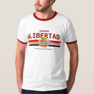 """Crucero español """"LIBERTAD """" de la república Camiseta"""