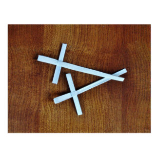 Cruces de Domingo de Ramos Postal