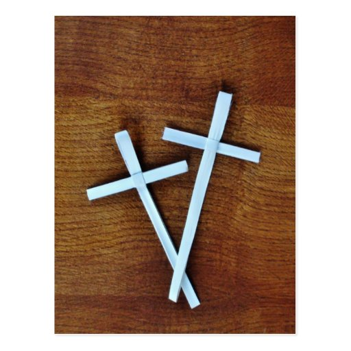 Cruces de Domingo de Ramos Tarjeta Postal