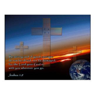 Cruces de la puesta del sol del 1:9 de Joshua Postal