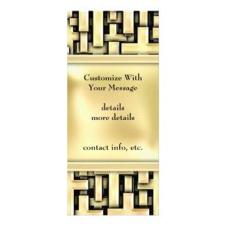 Cruces de oro folleto publicitario 10 x 22,8 cm
