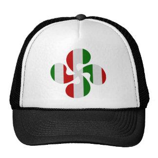 Cruces Vasco Multicolores Gorras