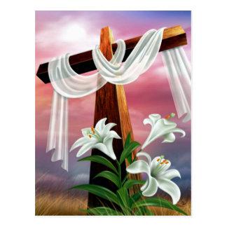 Cruces y escenas de Domingo de Pascua y de Ramos Postales