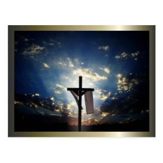 Cruces y escenas de Domingo de Pascua y de Ramos Tarjeta Postal