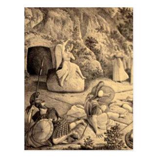 Cruces y escenas de Domingo de Pascua y de Ramos Tarjetas Postales