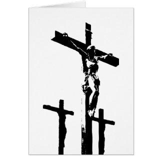 Crucfixion Tarjeta De Felicitación