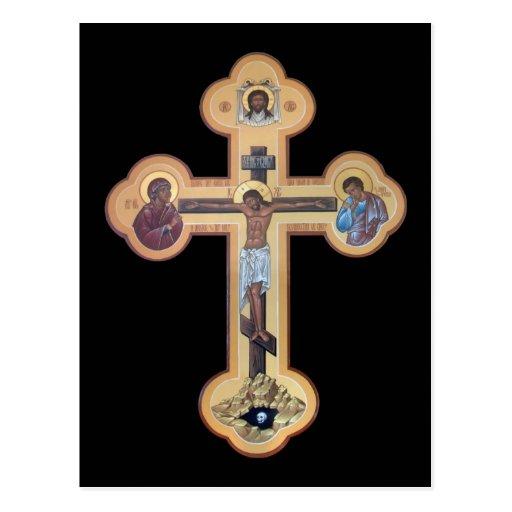Crucifixión del señor postales