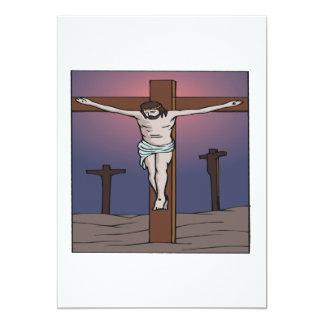 Crucifixión Invitación 12,7 X 17,8 Cm